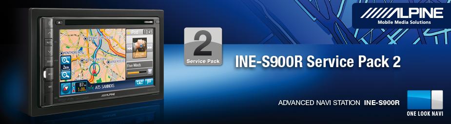 alpine ine s900r service pack 2. Black Bedroom Furniture Sets. Home Design Ideas