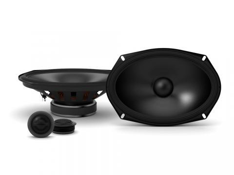 VW Scirocco MK2 Rear Hatch speakers Alpine 4x6 car speaker kit 150W Max Power