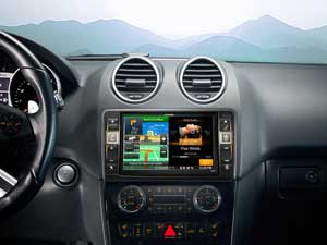 Navigation System for Mercedes ML (164) - X800D-ML