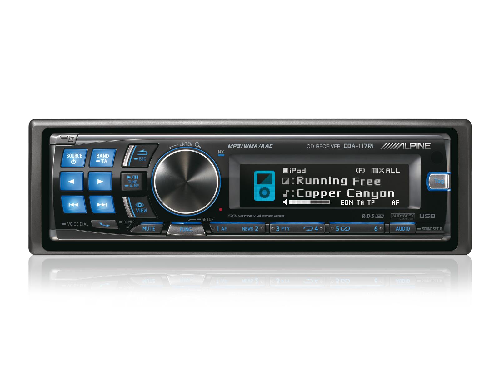 cd receiver usb and ipod controller alpine cda 117ri rh alpine co uk Alpine CDA 117 Bluetooth Alpine CDA 117 Bluetooth