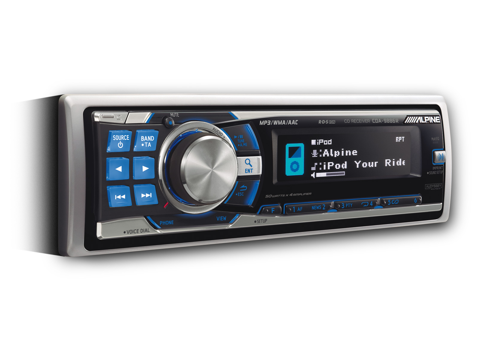 cd receiver usb and ipod controller alpine cda 9886r rh alpine co uk manual de estereo alpine cda-9886 alpine car stereo cda-9886 manual