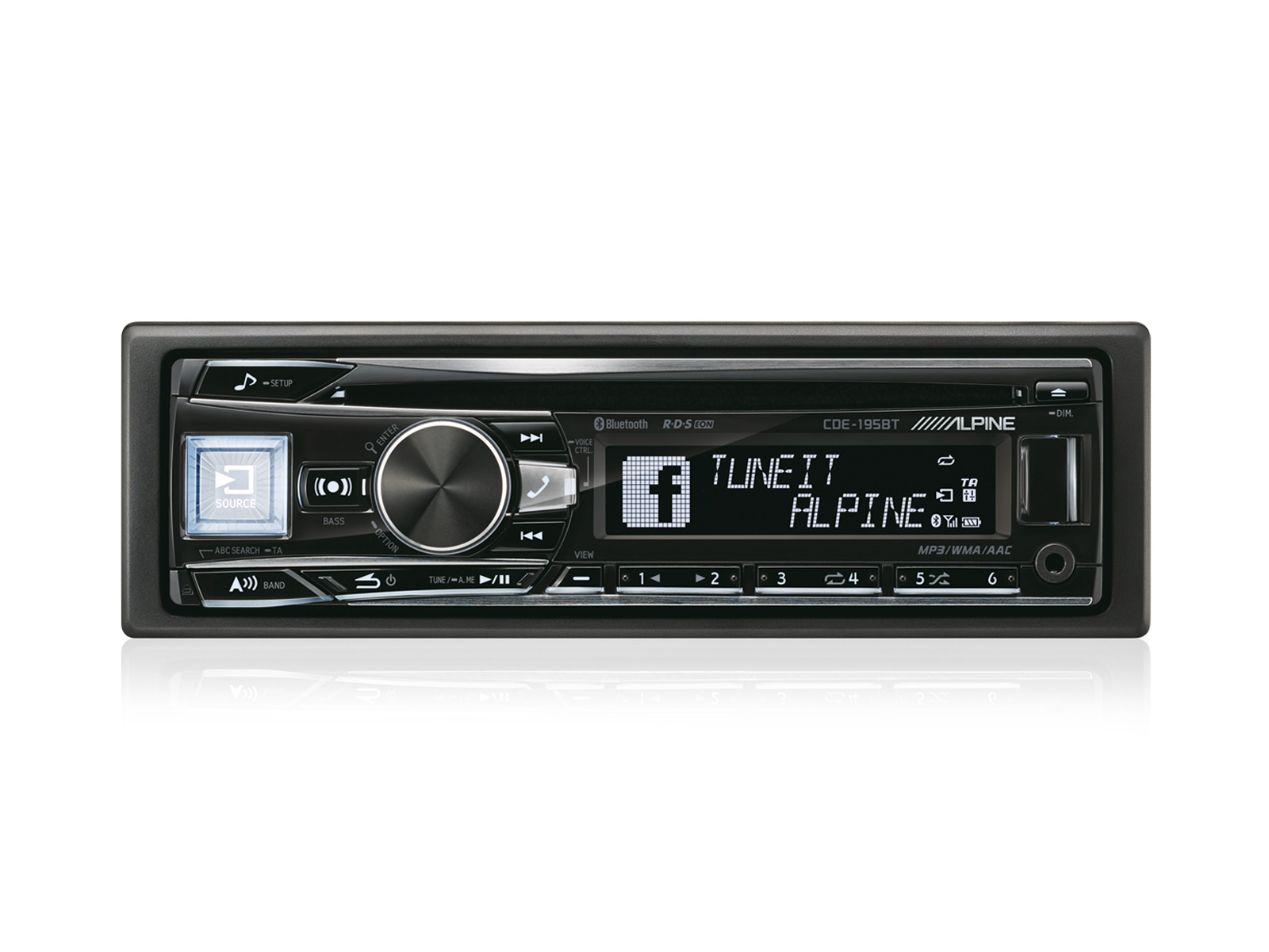 productpic_CDE 195BT_icewhite_03 cd receiver with bluetooth alpine cde 195bt alpine cde-w235bt wiring diagram at n-0.co