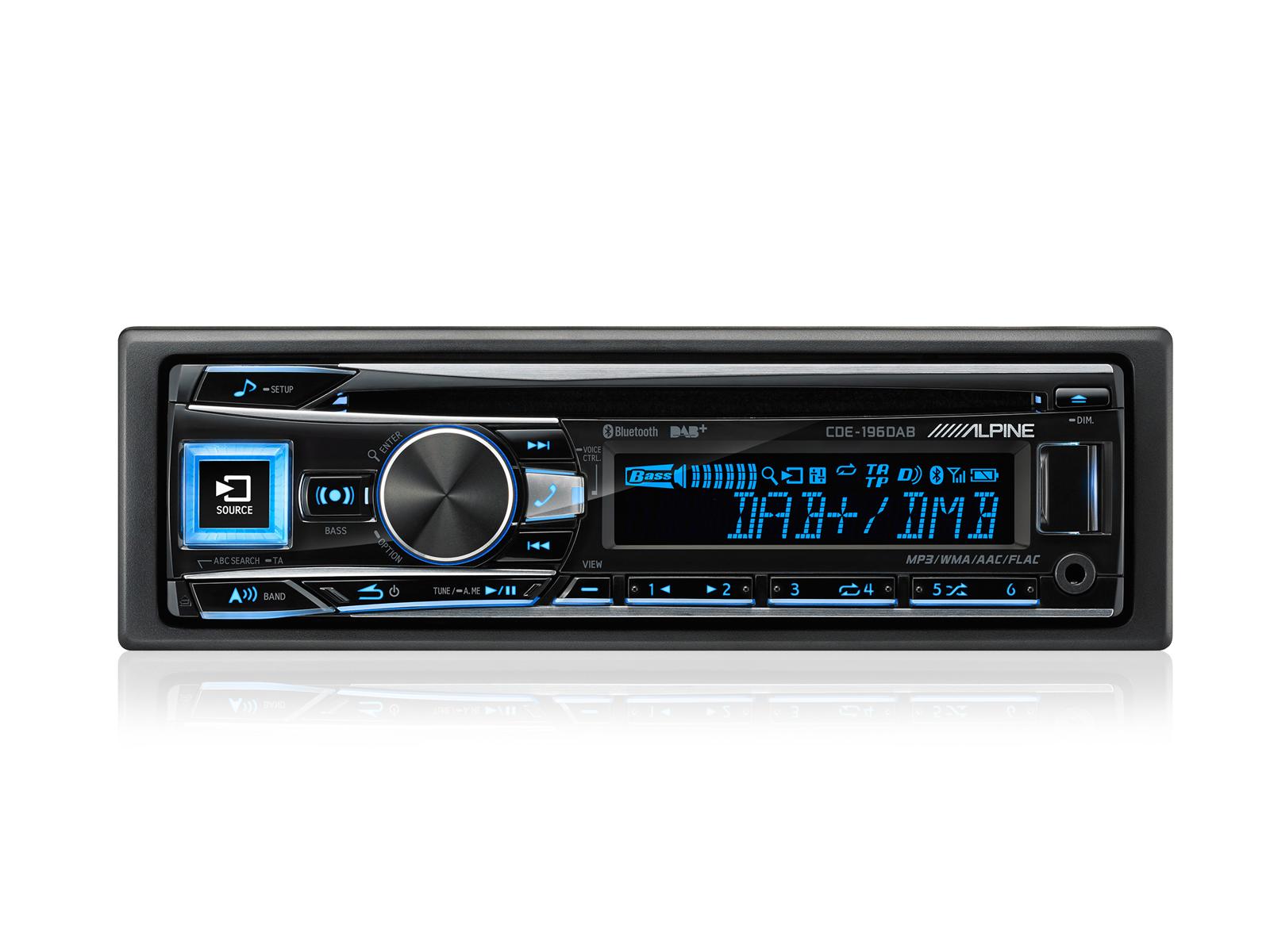 Cddab receiver with advanced bluetooth alpine cde 196dab sciox Gallery