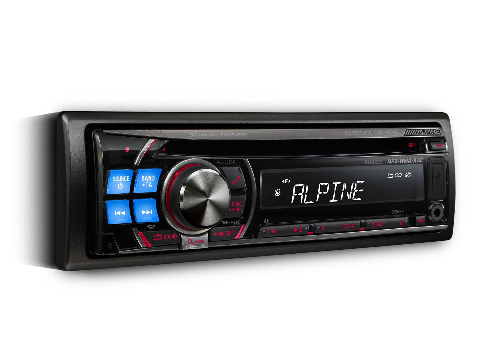 cd receiver usb and ipod controller alpine cde 102ri rh alpine co uk Alpine CDE 102 Error Unit Alpine CDE 101