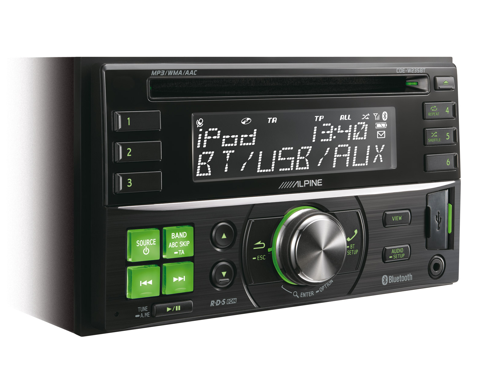 productpic_CDEW235BT_03 2 din cd receiver with advanced bluetooth alpine cde w235bt alpine cde-w235bt wiring diagram at edmiracle.co
