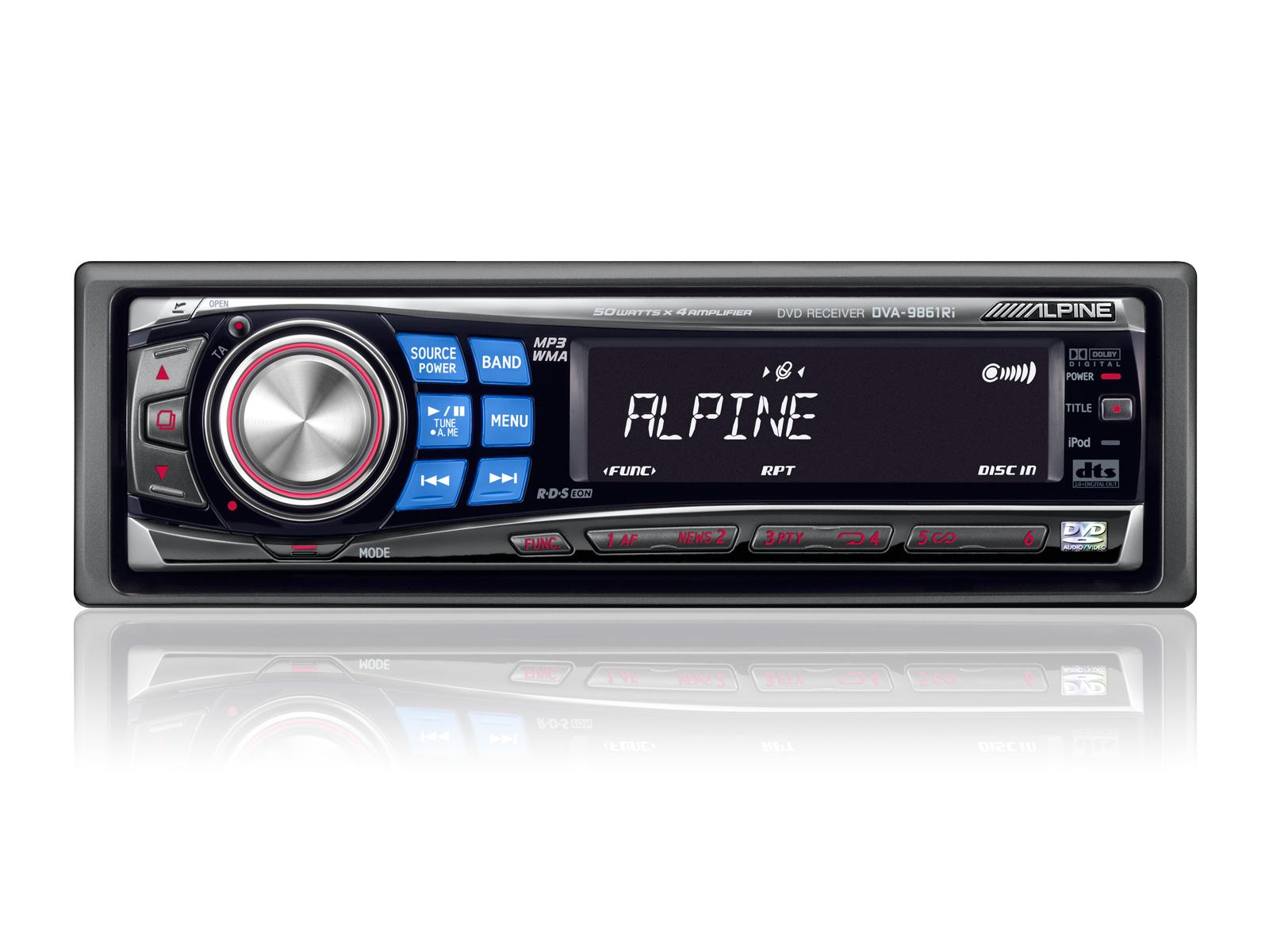 dvd cd mp3 wma receiver alpine dva 9861ri rh alpine co uk Phone 317 513 9851 Acer Aspire 5750 9851
