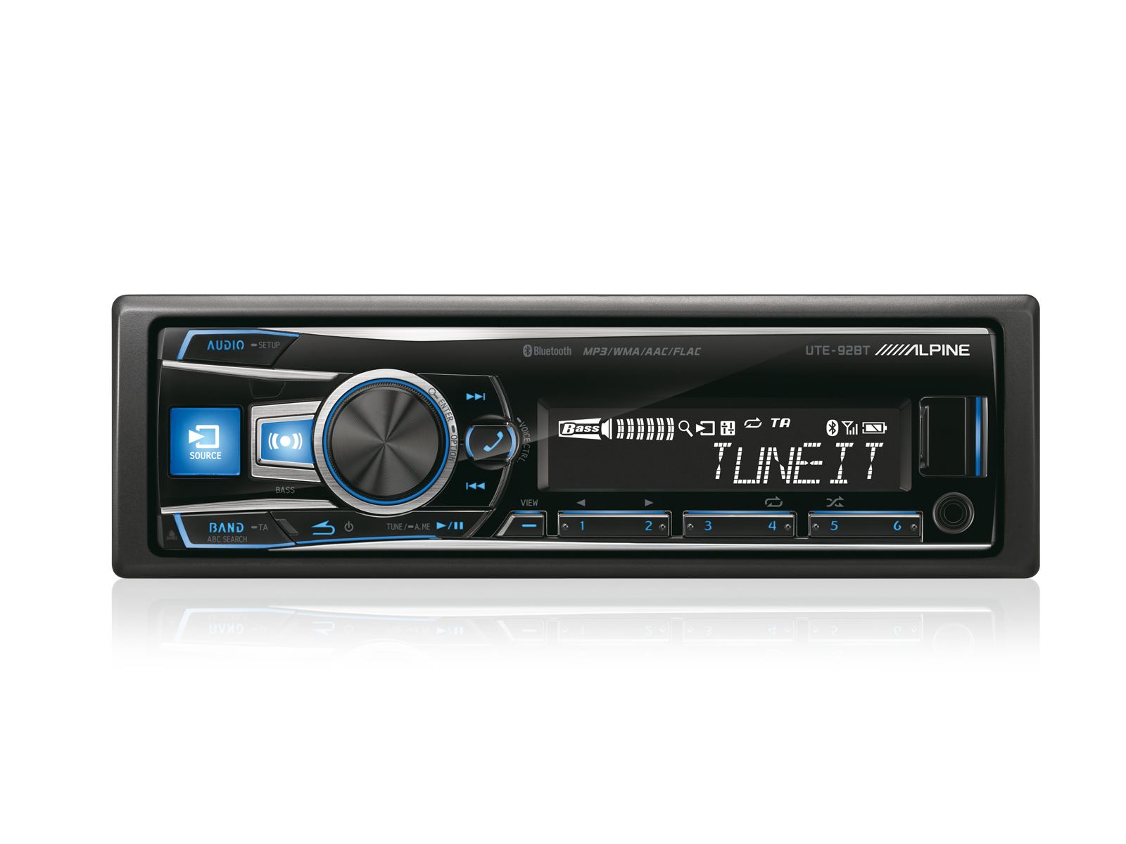 productpic_UTE 92BT_01 digital media receiver with advanced bluetooth alpine ute 92bt  at reclaimingppi.co