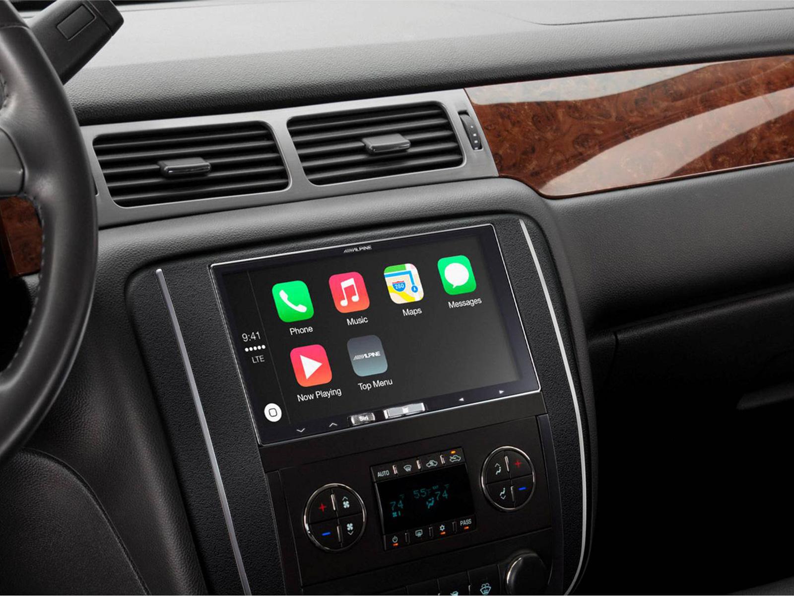 In Dash Digital Media Receiver With Apple Carplay Alpine Ilx 700 Ford Tourneo Uk Audio Wiring