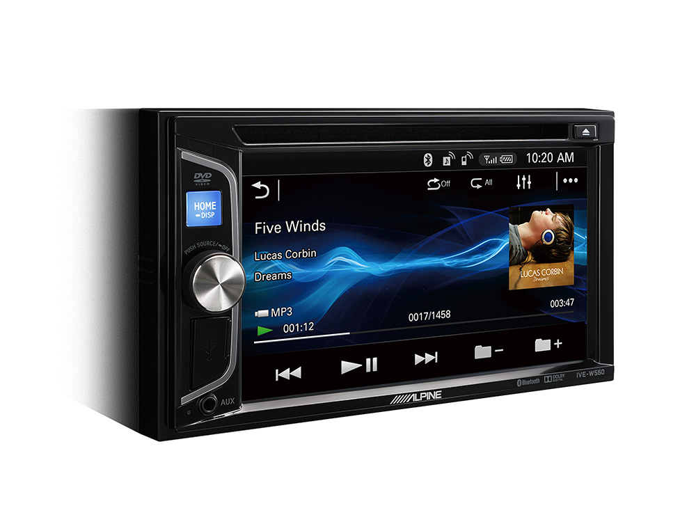 2-DIN MOBILE MEDIA STATION - Autoradio with Bluetooth, USB and DVD