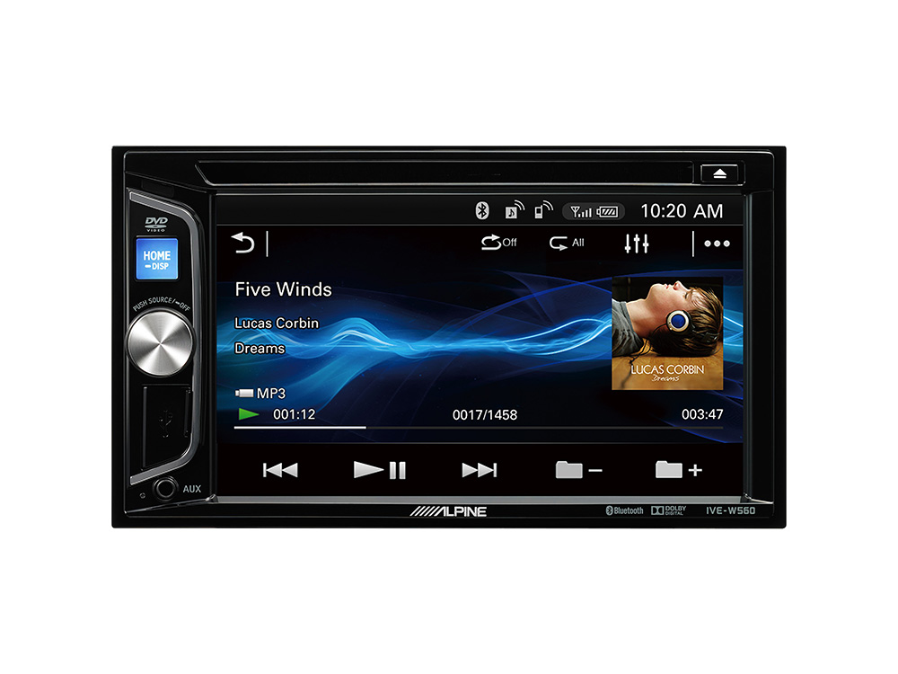 2 Din Mobile Media Station Autoradio With Bluetooth Usb And Dvd