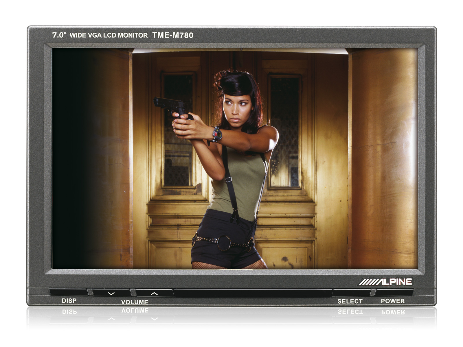 """7 wide monitor alpine tme m780 in order to protect your data security alpine provides you the 2 clicks data security function by default social """"like it"""" buttons on the alpine website"""