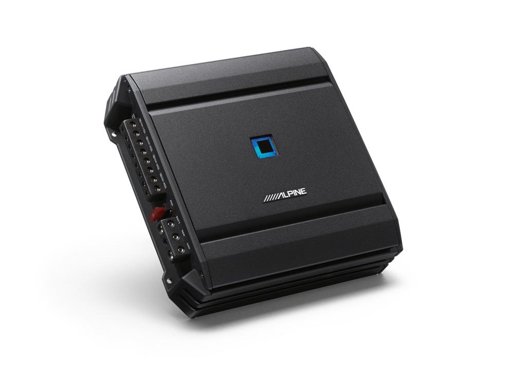 4-Channel Power Amplifier - 4 x 80W @ 2 Ohms - Alpine - S-A32F