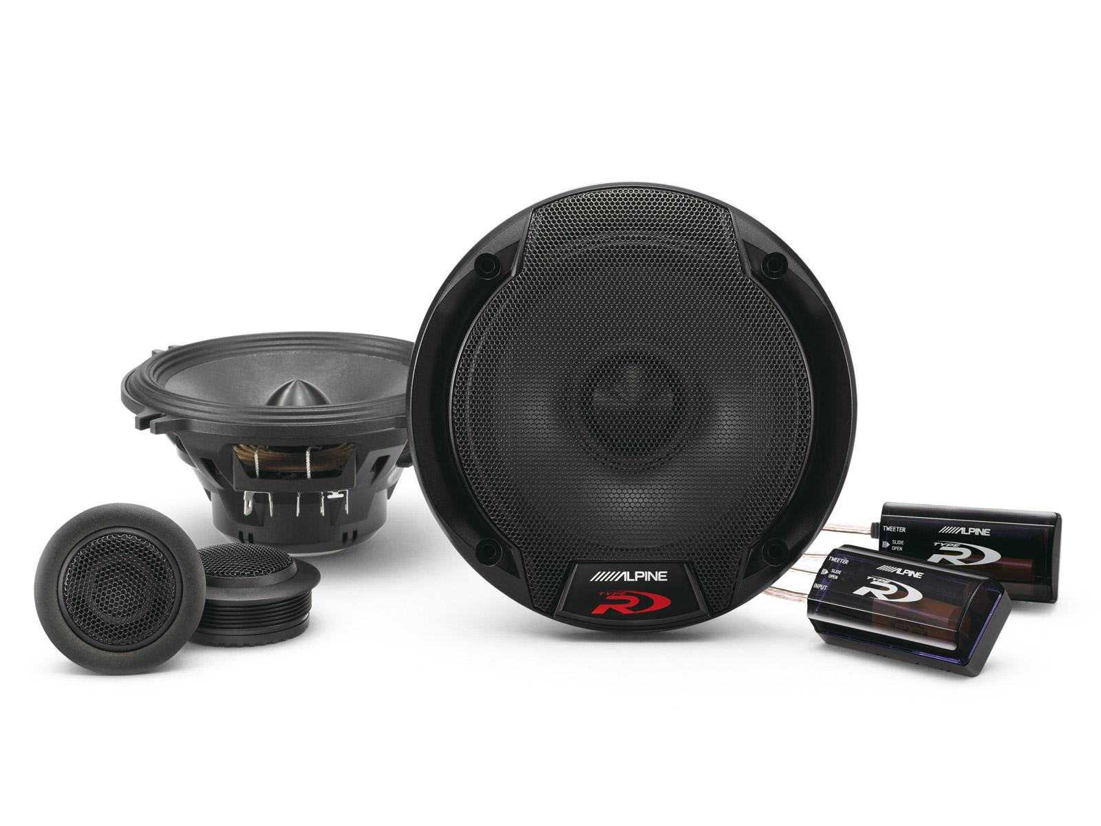 5 1 4 13cm component 2 way speaker alpine spr 50c rh alpine co uk