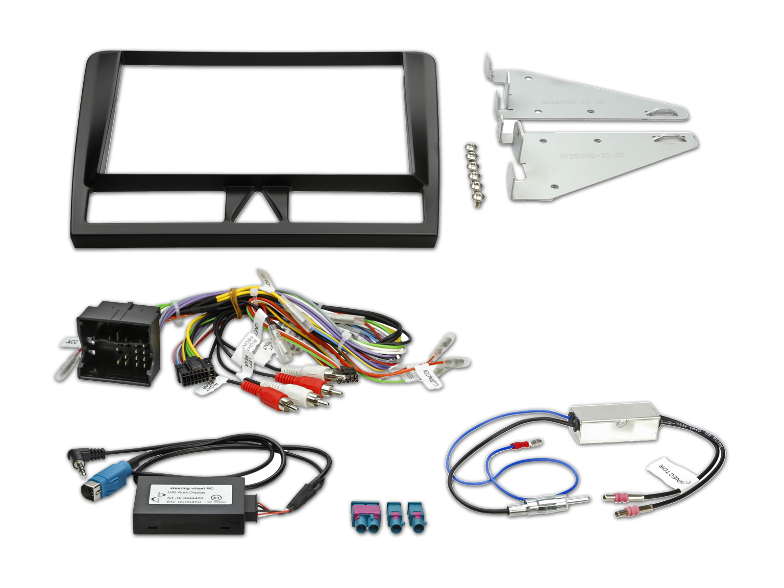 Installation Kit For Ine W928r Audi A3 Alpine 8a3d Cde 121 Wire Diagram