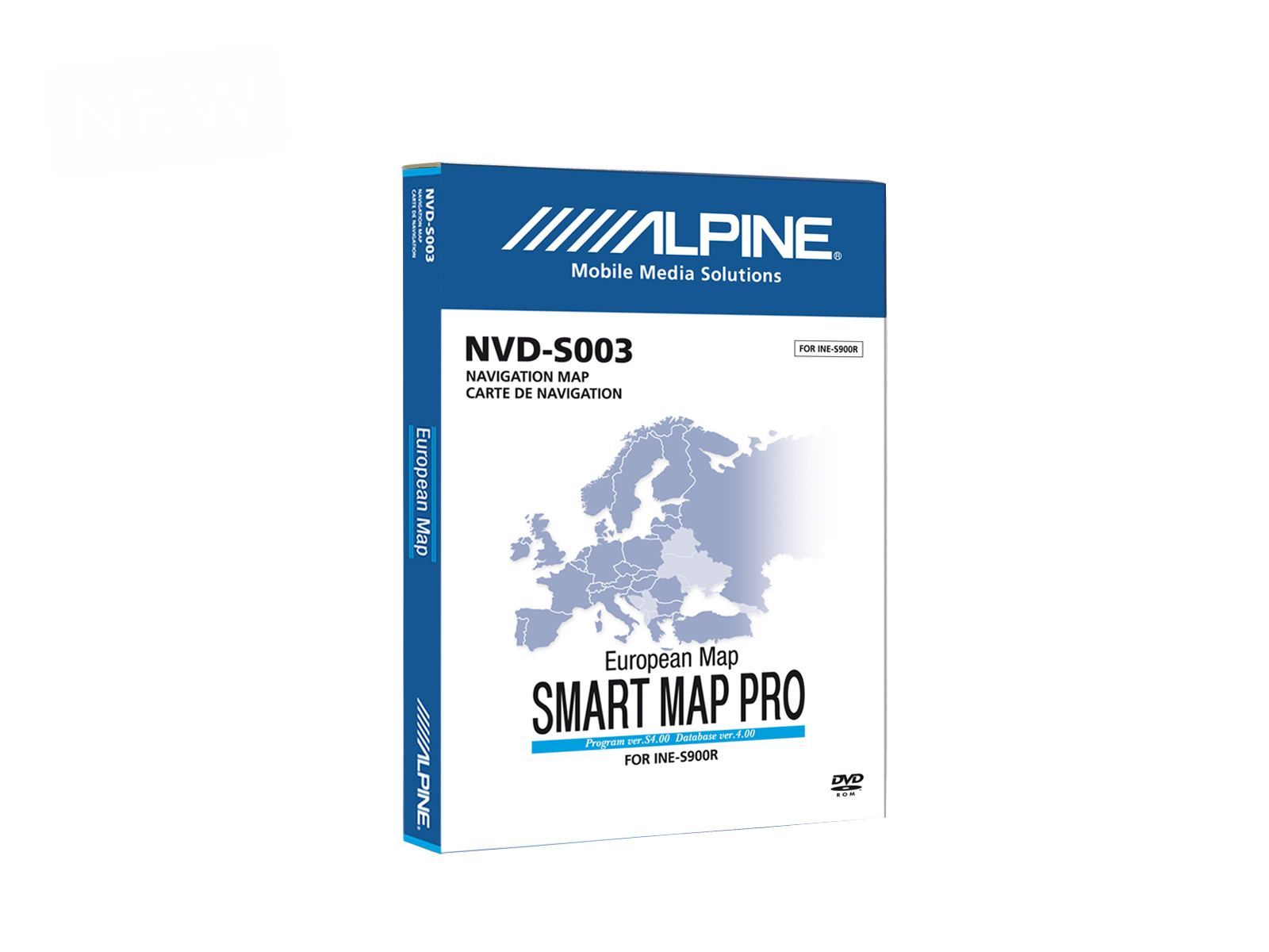 INE-S900R Map and Service Pack 2 - Alpine - NVD-S003