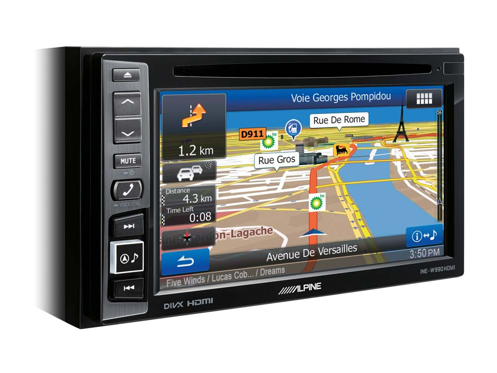 6 1-Inch Navigation and Media System - Alpine - INE-W990HDMI