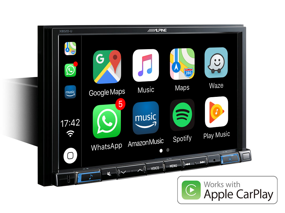 8 Touch Screen Navigation With Tomtom Maps Compatible With Apple