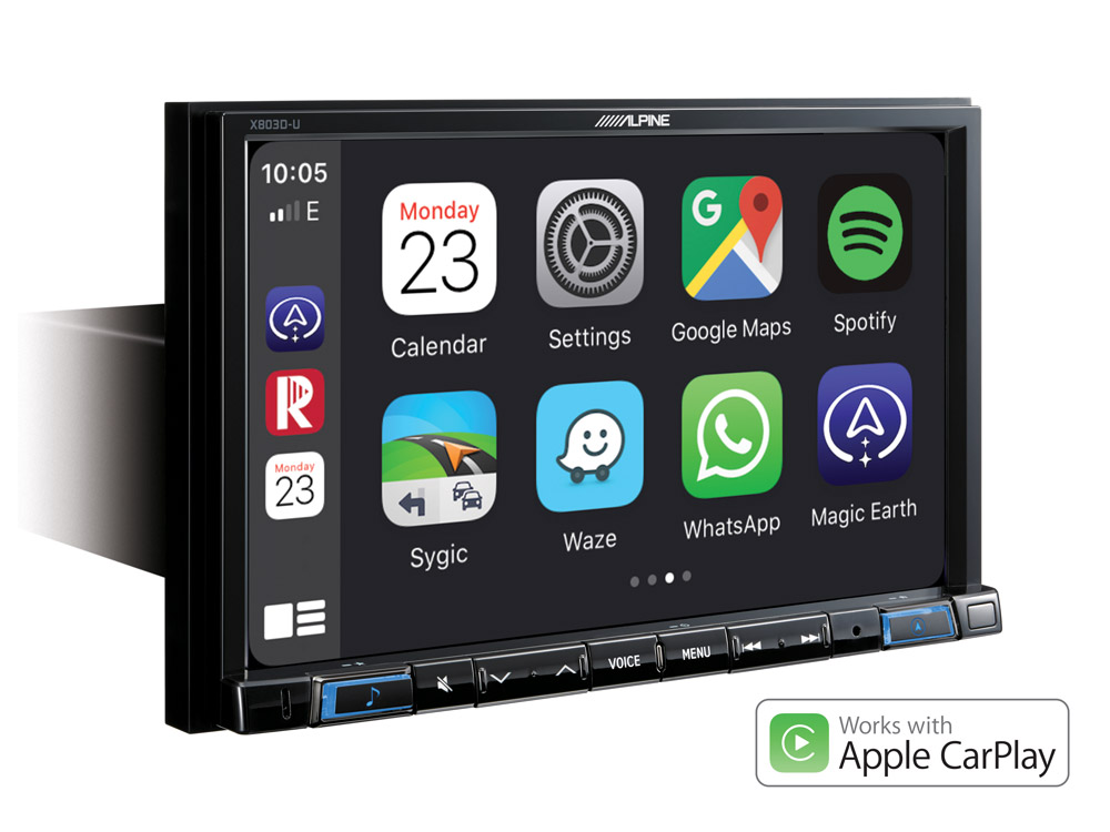 """8"""" Touch Screen Navigation with TomTom maps, compatible with ..."""