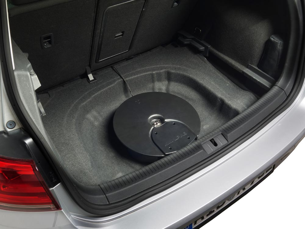 Subwoofer System For Vw Golf 7 And Golf 6 Alpine Spc 600g7