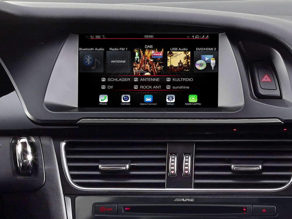 7-inch Touch Screen Navigation for Audi A4 with TomTom maps