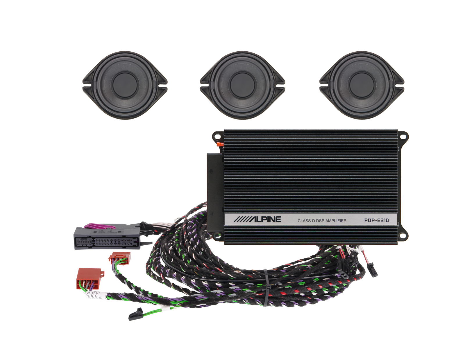 Premium Sound Upgrade For Audi A4 A5 And Q5 Alpine Spc 200au Sub Wiring Besides Car Subwoofer Diagram Additionally Audio