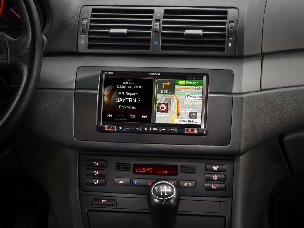 7 Inch Navigation System Designed For Bmw 3 Series E46 Alpine
