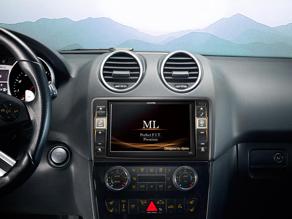Advanced Navi Station, Alpine Style Product for Mercedes-Benz ML and