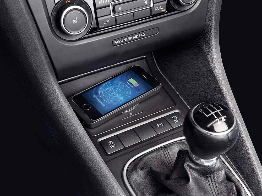 Wireless Charging Console For Volkswagen Golf 6 Alpine