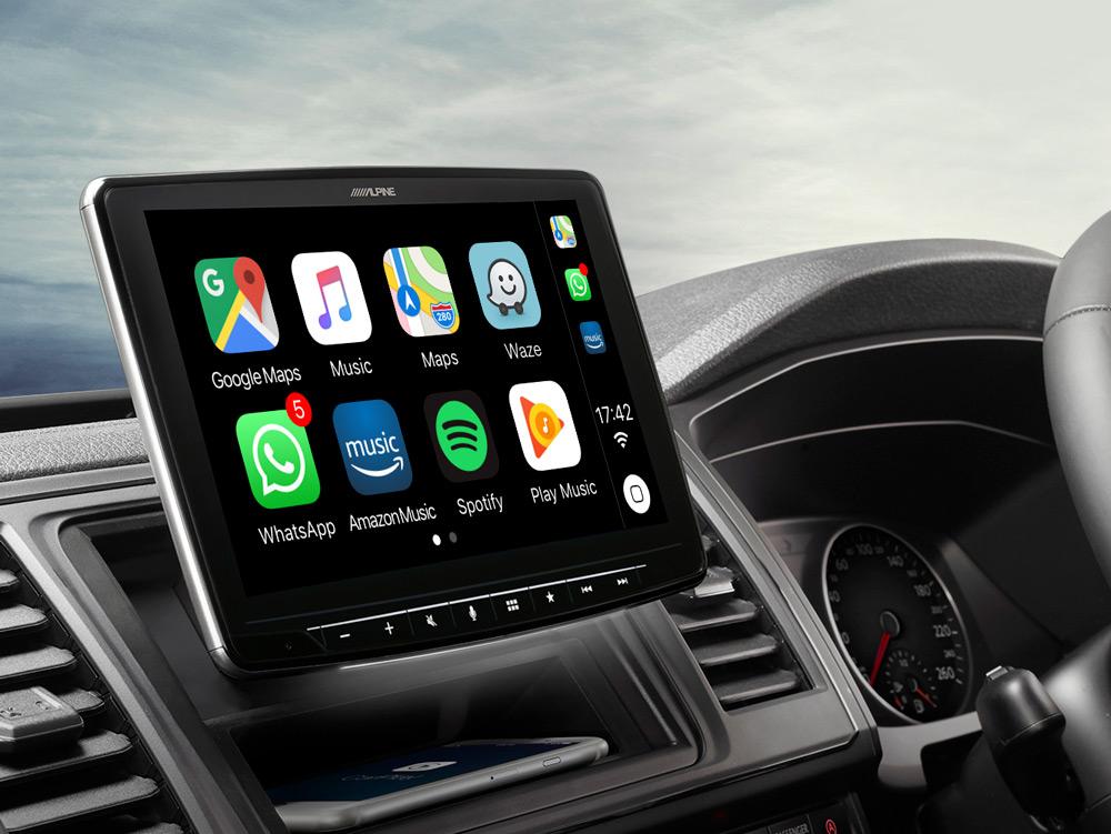 "9"" Screen Digital Media Station for Volkswagen T6 featuring"