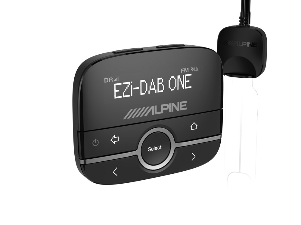 Digital radio (dab/dab+) interface with bluetooth hands-free.