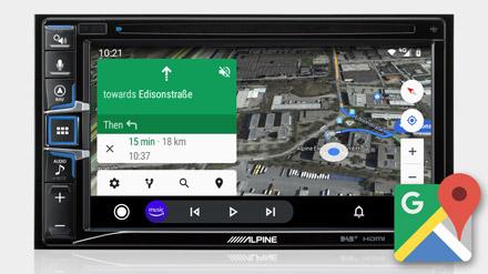 Google Maps - INE-W611D