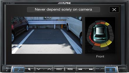 Drive-Assist Cameras - iLX-702D