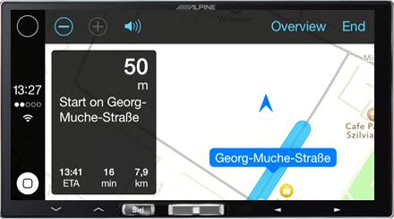 In-Dash Digital Media Receiver with Apple CarPlay - Alpine - iLX-700