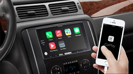 In-Dash Digital Media Receiver with Apple CarPlay - Alpine
