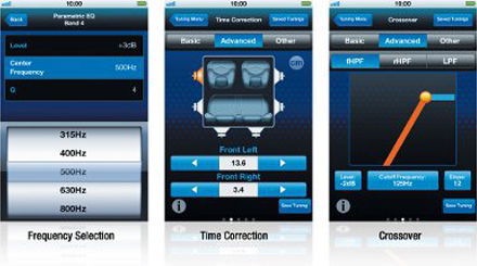 Alpine TuneIt App for Tuning and Keeping in Touch