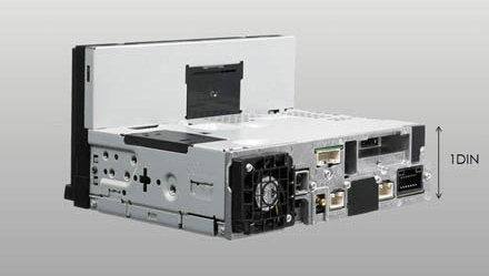 7-inch Screen with 1 DIN chassis - iLX-702D
