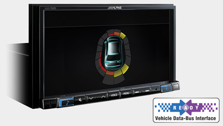Vehicle Data-Bus Connectivity - iLX-702D