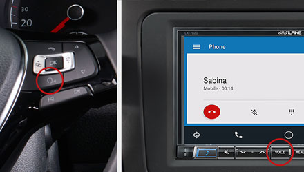Voice Control - Digital Media Receiver iLX-702D