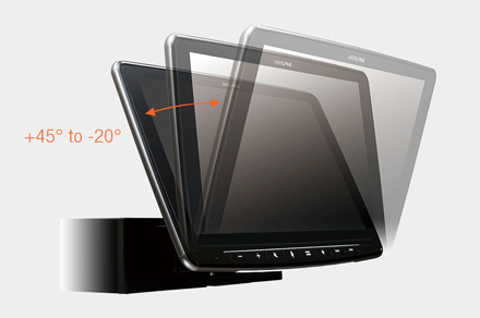 iLX-F903D - Adjustable Display Angle