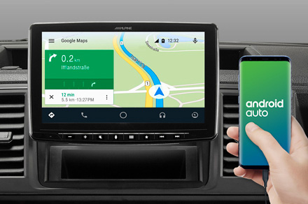 iLX-F903D - Online Navigation with Android Auto