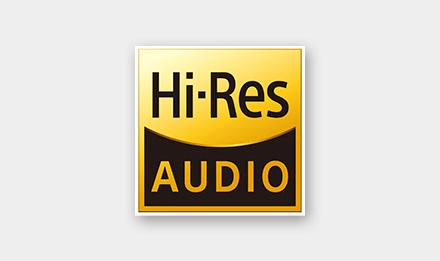 Hi-Res Audio Compliant