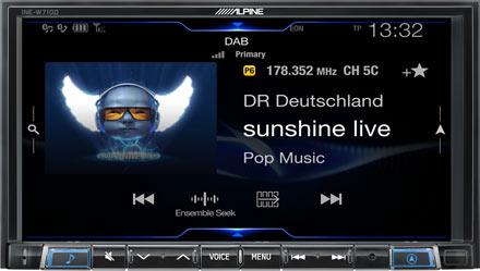 DAB+ Digital Radio - INE-W710DC
