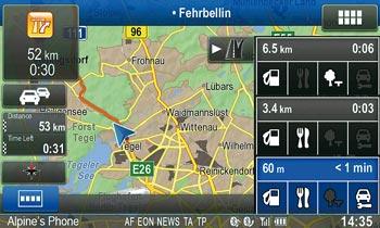 advanced navi station alpine ine w920r highway mode