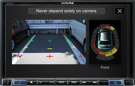 Sürücü Yardımı Kameraları - X803D-U
