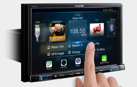 High Resolution WVGA Touch Screen  - X803D-U