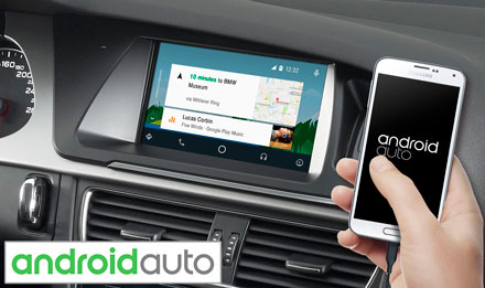 Audi A4 - Works with Android Auto - X702D-A4R