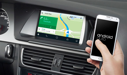 Online Navigation with Android Auto - X702D-A4R