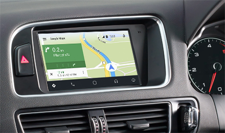 Online Navigation with Android Auto - X702D-Q5R