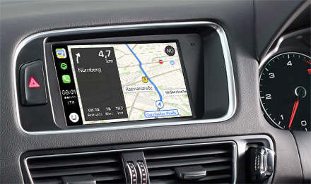 Online Navigation with Apple CarPlay - X702D-Q5R