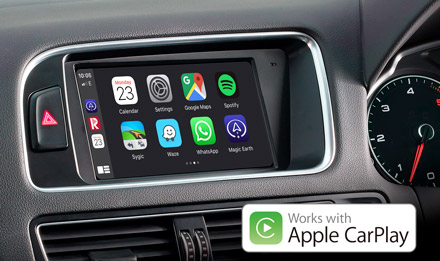 Audi Q5 - Works with Apple CarPlay - X703D-Q5R